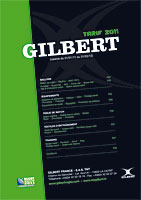 conception de la brochure Tarif Gilbert 2011